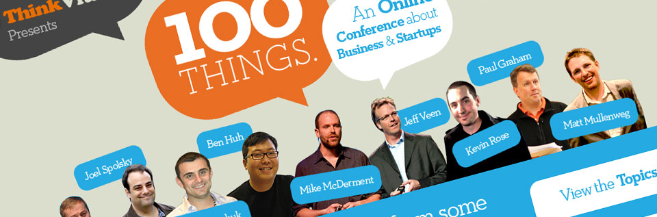 100 Things Online Conference